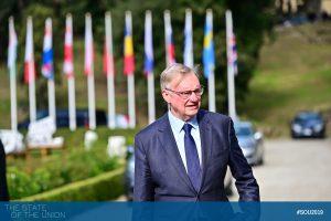 Allan-Rosas-(Judge-Court-of-Justice-of-the-EU) arrives at Villa Salviati