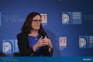 Cecilia Malmström (Commissioner for Trade, European Commission)