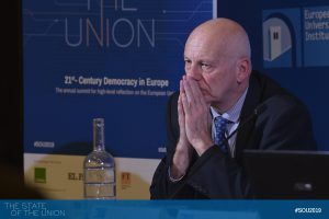 Jim Cloos (Deputy Director-General, General and Institutional Policy, General Secretariat of the EU Council of Ministers)