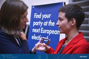 Ska Keller (European Greens Party) interviewed