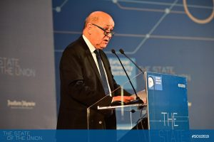 Jean-Yves Le Drian (Minister of Europe and Foreign Affairs, France)