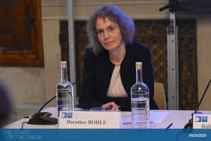 Dorothee Bohle (Professor of Political Science, EUI)