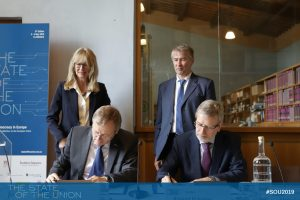 FdE- Signature of the letter of intent EUI-ESA