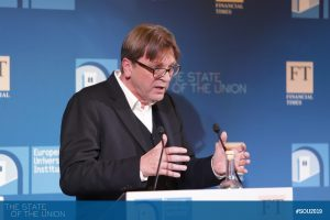Guy Verhofstadt (Alliance of Liberal and Democrats for Europe)