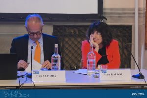 Ivan Vejvoda (Permanent Fellow, Institute for Human Sciences, Vienna) and Mary Kaldor (Professor of Global Governance, LSE)