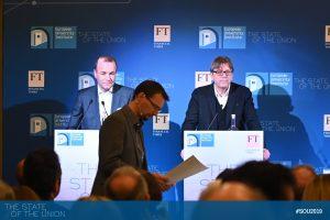 Manfred Weber and Guy Verhofstadt