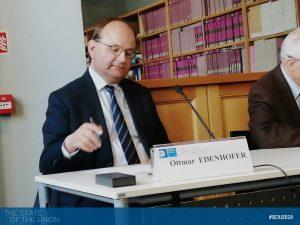 Ottmar Edenhofer (Director Potsdam Institute for Climate Impact Research)